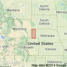 Badlands Nebraska Map.Geolex Chadron Publications