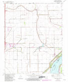 Download a high-resolution, GPS-compatible USGS topo map for Armorel, AR (1983 edition)