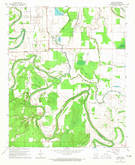 Download a high-resolution, GPS-compatible USGS topo map for Avery, AR (1965 edition)