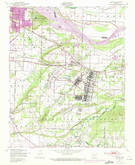 Download a high-resolution, GPS-compatible USGS topo map for Barling, AR (1971 edition)