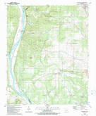 Download a high-resolution, GPS-compatible USGS topo map for Bethesda, AR (1989 edition)