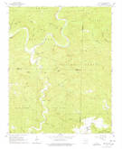 Download a high-resolution, GPS-compatible USGS topo map for Big Flat, AR (1978 edition)
