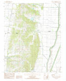 Download a high-resolution, GPS-compatible USGS topo map for Cherry Valley East, AR (1985 edition)