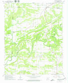 Download a high-resolution, GPS-compatible USGS topo map for Damascus, AR (1979 edition)