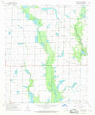 Download a high-resolution, GPS-compatible USGS topo map for De Witt SW, AR (1970 edition)