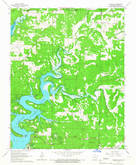 Download a high-resolution, GPS-compatible USGS topo map for Gamaliel, AR (1967 edition)