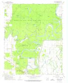 Download a high-resolution, GPS-compatible USGS topo map for Georgetown, AR (1974 edition)