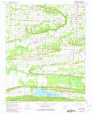 Download a high-resolution, GPS-compatible USGS topo map for Greenbrier, AR (1982 edition)