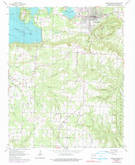 Download a high-resolution, GPS-compatible USGS topo map for Heber Springs, AR (1990 edition)