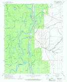 Download a high-resolution, GPS-compatible USGS topo map for Henrico NE, AR (1968 edition)