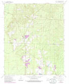Download a high-resolution, GPS-compatible USGS topo map for Holly Springs, AR (1986 edition)