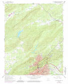 Download a high-resolution, GPS-compatible USGS topo map for Hot Springs North, AR (1989 edition)