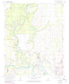 Download a high-resolution, GPS-compatible USGS topo map for Jacksonport, AR (1982 edition)