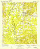 Download a high-resolution, GPS-compatible USGS topo map for Lockesburg, AR (1952 edition)