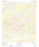 Download a high-resolution, GPS-compatible USGS topo map for Macedonia, AR (1983 edition)