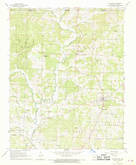 Download a high-resolution, GPS-compatible USGS topo map for Maynard, AR (1969 edition)