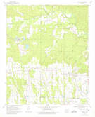 Download a high-resolution, GPS-compatible USGS topo map for Nathan, AR (1980 edition)