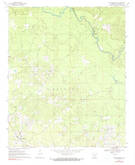 Download a high-resolution, GPS-compatible USGS topo map for New Edinburg, AR (1990 edition)