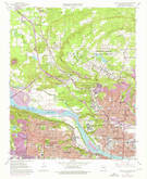 Download a high-resolution, GPS-compatible USGS topo map for North Little Rock, AR (1976 edition)
