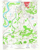 Download a high-resolution, GPS-compatible USGS topo map for South Fort Smith, AR (1967 edition)
