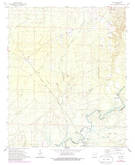 Download a high-resolution, GPS-compatible USGS topo map for Vick, AR (1986 edition)