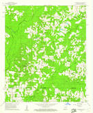 Download a high-resolution, GPS-compatible USGS topo map for Walkerville, AR (1961 edition)