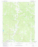Download a high-resolution, GPS-compatible USGS topo map for Williford, AR (1982 edition)