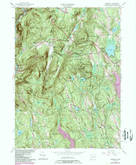 Download a high-resolution, GPS-compatible USGS topo map for Cornwall, CT (1984 edition)