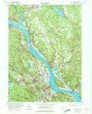 Download a high-resolution, GPS-compatible USGS topo map for Deep River, CT (1972 edition)