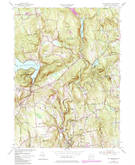 Download a high-resolution, GPS-compatible USGS topo map for New Preston, CT (1984 edition)