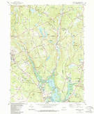 Download a high-resolution, GPS-compatible USGS topo map for Spring Hill, CT (1988 edition)