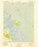 Download a high-resolution, GPS-compatible USGS topo map for Bombay Hook, DE (1949 edition)
