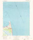 Download a high-resolution, GPS-compatible USGS topo map for Cape Henlopen, DE (1973 edition)