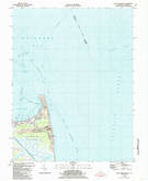 Download a high-resolution, GPS-compatible USGS topo map for Cape Henlopen, DE (1985 edition)