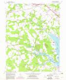 Download a high-resolution, GPS-compatible USGS topo map for Fairmount, DE (1982 edition)