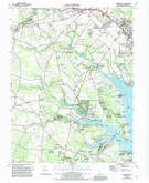 Download a high-resolution, GPS-compatible USGS topo map for Fairmount, DE (1992 edition)