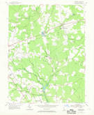 Download a high-resolution, GPS-compatible USGS topo map for Harbeson, DE (1969 edition)