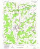 Download a high-resolution, GPS-compatible USGS topo map for Harrington, DE (1982 edition)