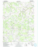 Download a high-resolution, GPS-compatible USGS topo map for Kenton, DE (1993 edition)