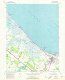 Download a high-resolution, GPS-compatible USGS topo map for Lewes, DE (1972 edition)