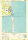 Download a high-resolution, GPS-compatible USGS topo map for Rehoboth Beach, DE (1948 edition)