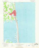 Download a high-resolution, GPS-compatible USGS topo map for Rehoboth Beach, DE (1969 edition)