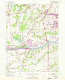 Download a high-resolution, GPS-compatible USGS topo map for Saint Georges, DE (1972 edition)
