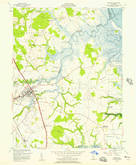 Download a high-resolution, GPS-compatible USGS topo map for Smyrna, DE (1957 edition)