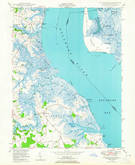 Download a high-resolution, GPS-compatible USGS topo map for Taylors Bridge, DE (1965 edition)