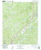 Download a high-resolution, GPS-compatible USGS topo map for Ball Ground West, GA (1999 edition)