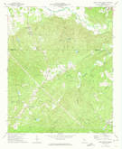 Download a high-resolution, GPS-compatible USGS topo map for Burnt Hickory Ridge, GA (1974 edition)
