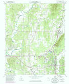 Download a high-resolution, GPS-compatible USGS topo map for Chatsworth, GA (1986 edition)