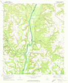 Download a high-resolution, GPS-compatible USGS topo map for Columbia NE, GA (1972 edition)