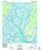 Download a high-resolution, GPS-compatible USGS topo map for Doboy Sound, GA (1995 edition)